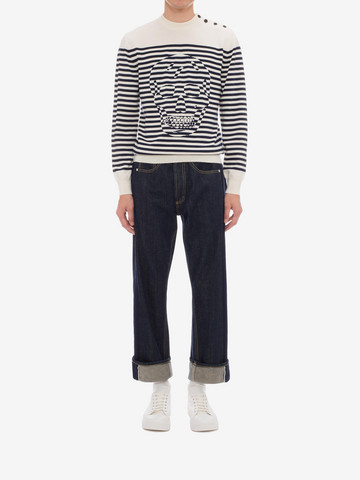 ALEXANDER MCQUEEN Selvedge Jeans Jeans Man r