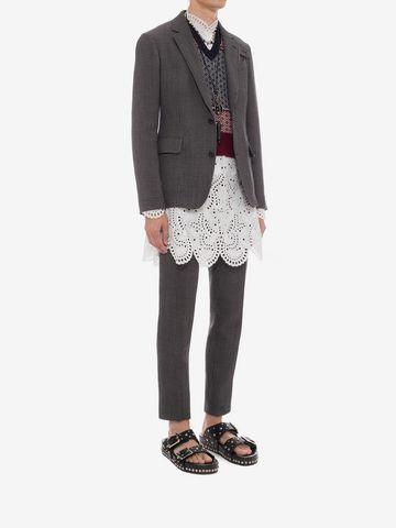 ALEXANDER MCQUEEN Jacquard Pants Tailored Pant U d