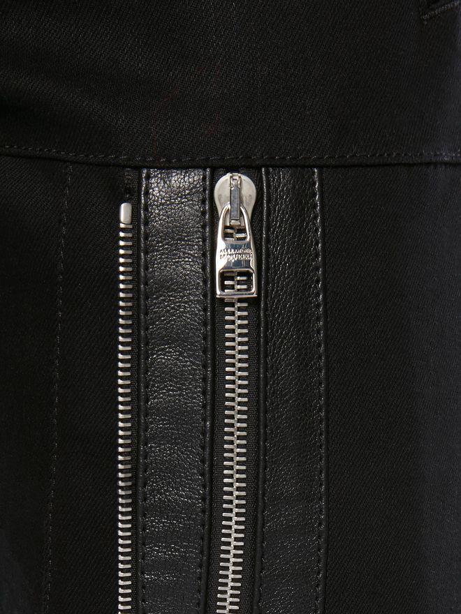 ALEXANDER MCQUEEN Zipped Jeans Pants Man a
