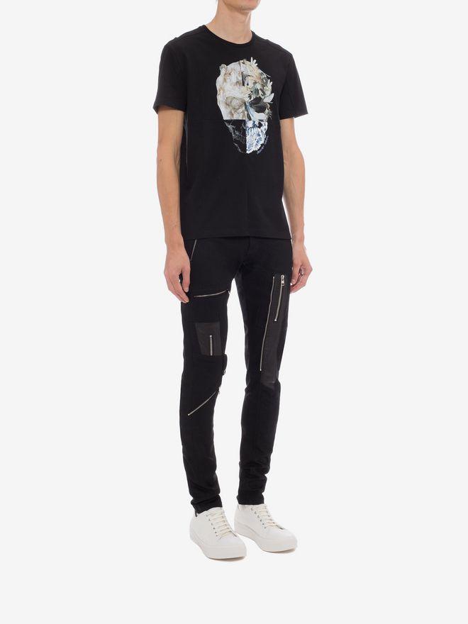 ALEXANDER MCQUEEN Zipped Jeans Pants Man d