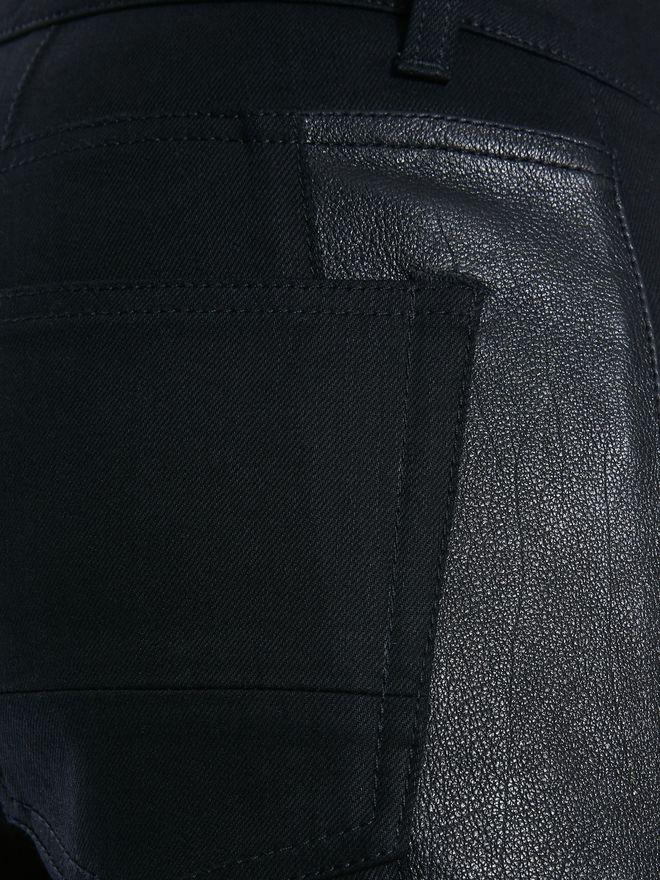 ALEXANDER MCQUEEN Zipped Jeans Pants Man l