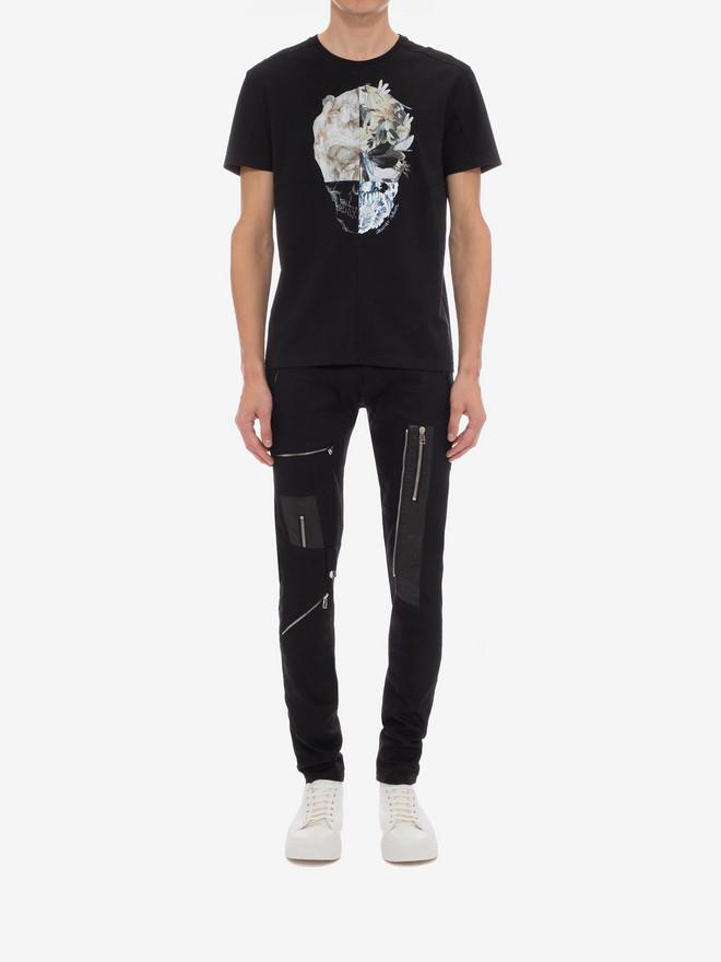 ALEXANDER MCQUEEN Zipped Jeans Pants Man r