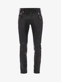 ALEXANDER MCQUEEN Pants U Leather Pants f