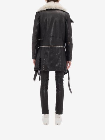 ALEXANDER MCQUEEN Leather Pants Pants Man e