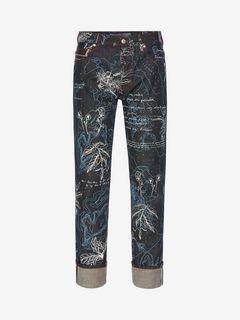 ALEXANDER MCQUEEN Jeans U Explorer Jeans f