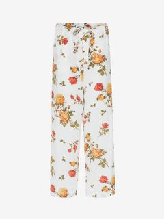 ALEXANDER MCQUEEN Trousers D Scarf Print Pyjama Trousers f