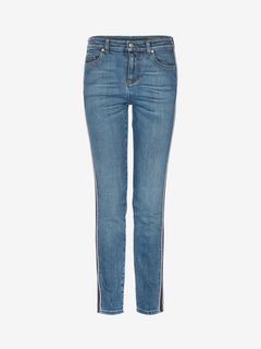 ALEXANDER MCQUEEN Jeans D Selvedge Stripe Denim Pants  f