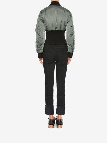 ALEXANDER MCQUEEN Capri Denim Jeans Jeans Woman e