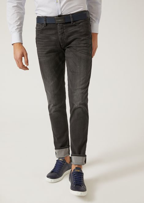9aa1882a5b1d J11 EXTRA SLIM FIT COTTON AND STRETCH MODAL JEANS