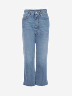 ALEXANDER MCQUEEN Jeans Woman Mom Denim Pants f