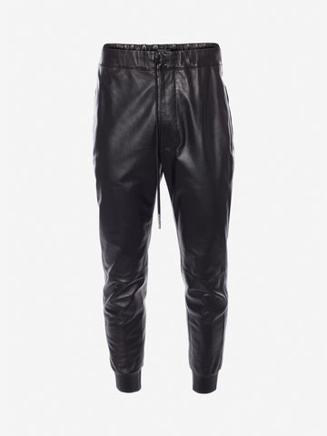 Free Shipping Pay With Paypal lambskin trousers - Black Alexander McQueen Outlet 100% Guaranteed 2018 Discount  Clearance Pictures Purchase Cheap o9f2JtU7VH