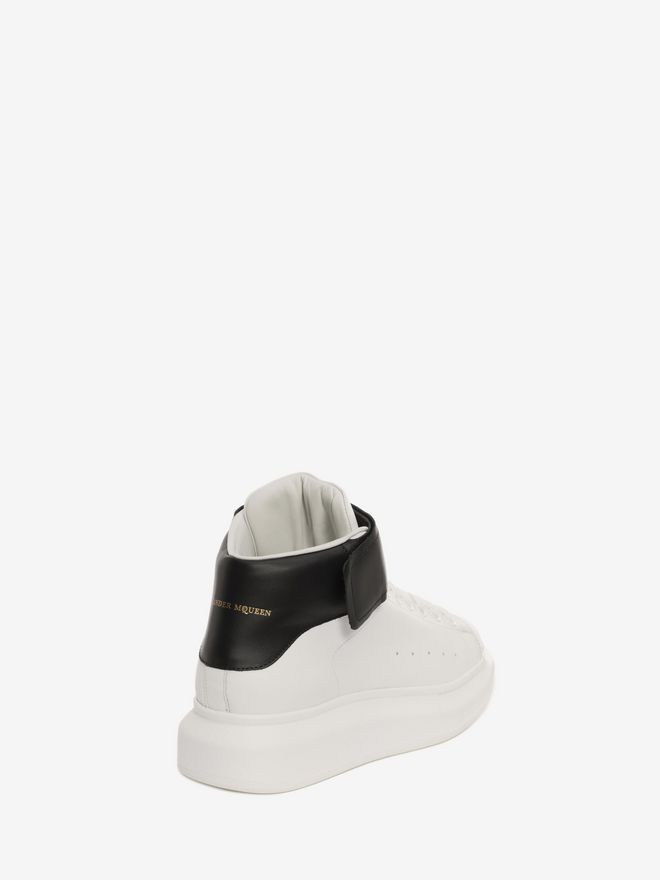 ALEXANDER MCQUEEN High Top Oversized Sneaker HIGH TOP OVERSIZED SNEAKER Man d