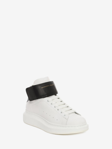 ALEXANDER MCQUEEN High Top Oversized Sneaker HIGH TOP OVERSIZED SNEAKER Man r