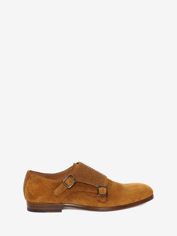 Chaussures Oxford - Alexander Mcqueen Brun vtA6ojBIT