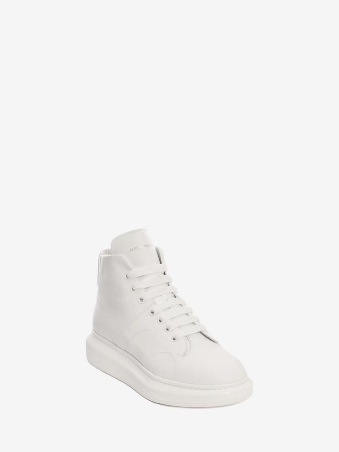 Chaussures en cuir à lacets et semelle hauteAlexander McQueen VCxEW9s