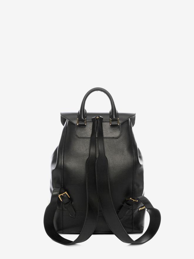ALEXANDER MCQUEEN Calf Leather Back Pack Backpack D d