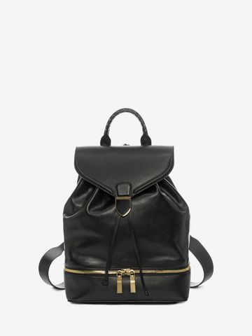 ALEXANDER MCQUEEN Calf Leather Back Pack Backpack D f