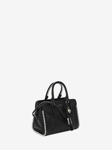 ALEXANDER MCQUEEN Grain Calf Leather Mini Padlock Shoulder Bag Padlock Mini D r