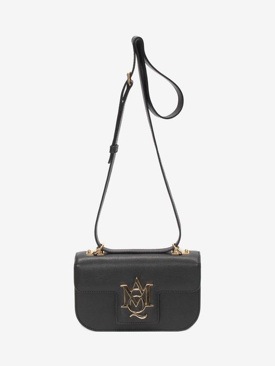 ALEXANDER MCQUEEN Cross Body Satchel 女士 Insignia 斜挎式 Satchel 手袋 f