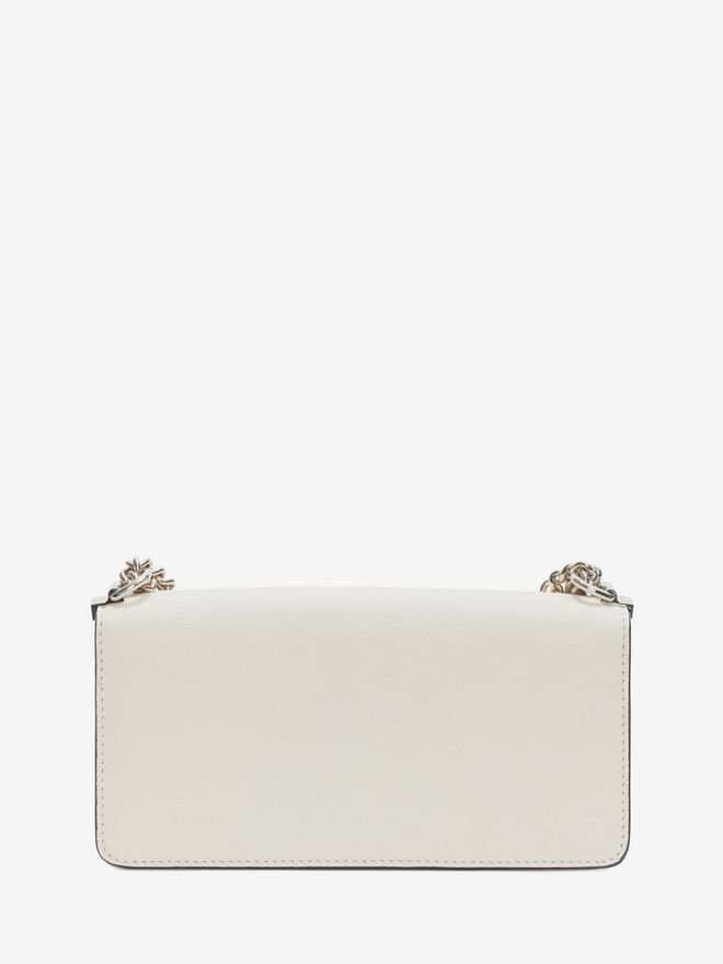 ALEXANDER MCQUEEN Insignia Clutch Satchel  Shoulder Bag D d