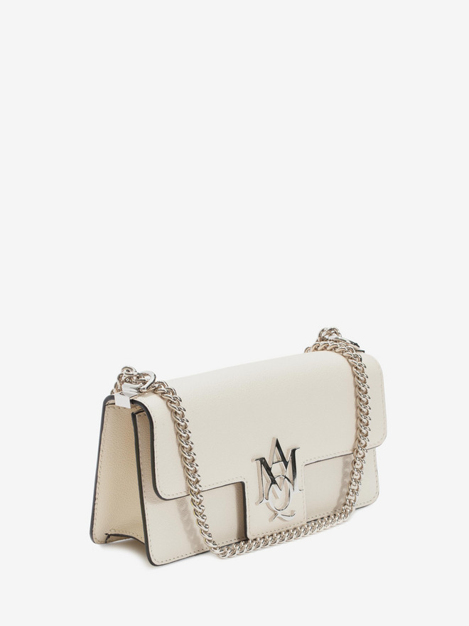 ALEXANDER MCQUEEN Insignia Clutch Satchel  Shoulder Bag D r