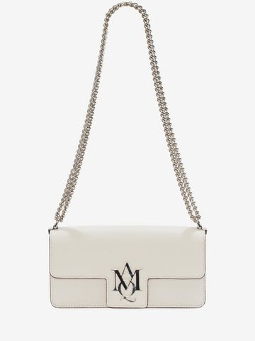 ALEXANDER MCQUEEN Insignia Clutch Satchel  Shoulder Bag D a