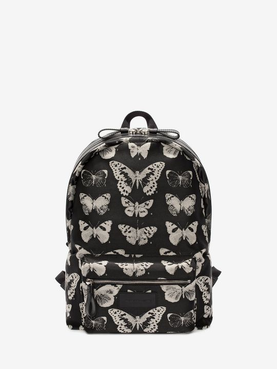 ALEXANDER MCQUEEN Backpack Man Skull & Moth BackPack f