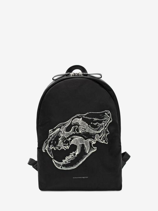 ALEXANDER MCQUEEN Backpack Man Lion Skull BackPack f