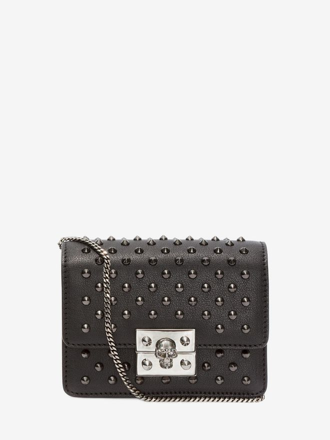 ALEXANDER MCQUEEN Mini Skull chain satchel Shoulder Bag Woman f
