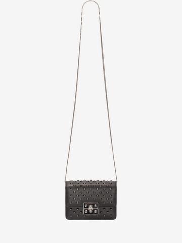 ALEXANDER MCQUEEN Mini Skull chain satchel Shoulder Bag Woman a