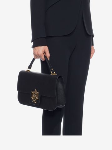 ALEXANDER MCQUEEN Insignia large satchel Top handles D l