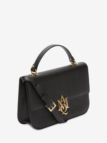 ... ALEXANDER MCQUEEN Insignia large satchel Top handles Woman r ...