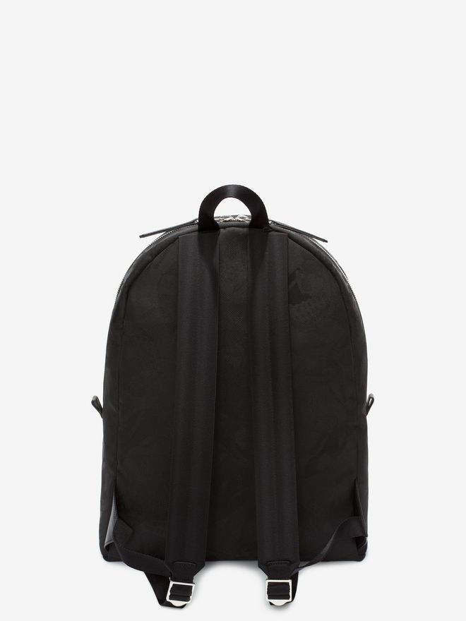ALEXANDER MCQUEEN Skull Camouflage Jacquard Backpack Backpack Man d