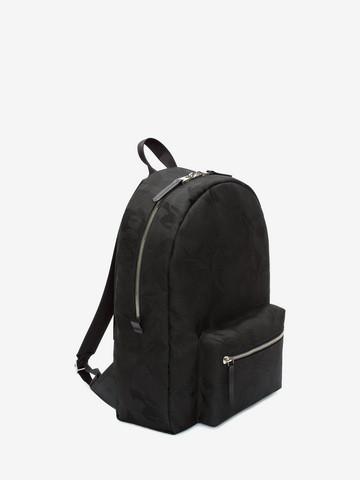 ALEXANDER MCQUEEN Skull Camouflage Jacquard Backpack Backpack Man r