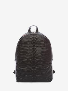 ALEXANDER MCQUEEN Backpack U Black Rib Cage Backpack f