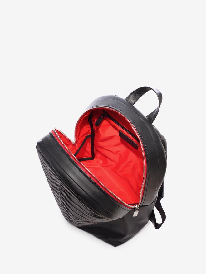 ALEXANDER MCQUEEN Black Rib Cage Backpack Backpack U e