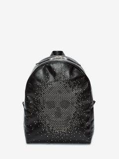 Exploded Studded Skull Backpack