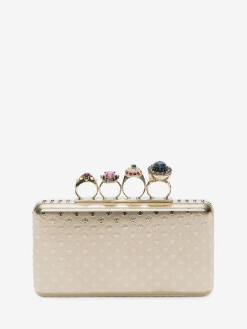 ALEXANDER MCQUEEN Knuckle box case Clutch Seasonal D d