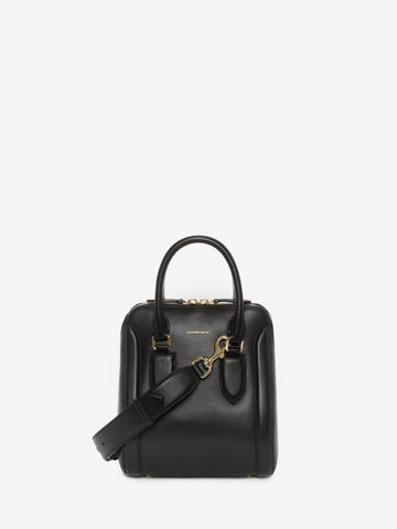 ALEXANDER MCQUEEN Small Heroine Cross Body Satchel D f