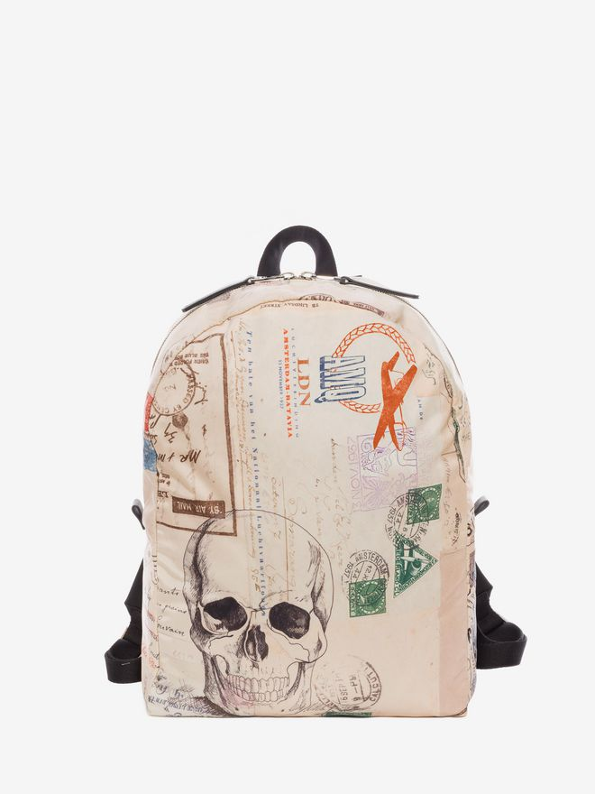 """ALEXANDER MCQUEEN """"Letters from India"""" Backpack Backpack U f"""
