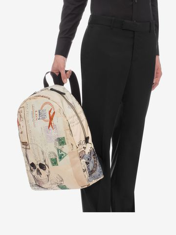 """ALEXANDER MCQUEEN """"Letters from India"""" Backpack Backpack U a"""