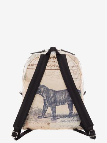"""ALEXANDER MCQUEEN """"Letters from India"""" Backpack Backpack U d"""
