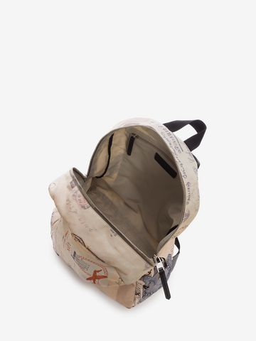 """ALEXANDER MCQUEEN """"Letters from India"""" Backpack Backpack U e"""