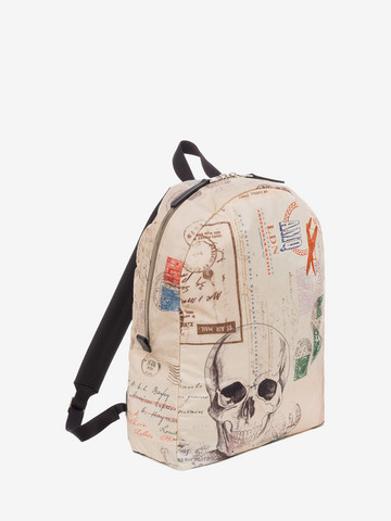 """ALEXANDER MCQUEEN """"Letters from India"""" Backpack Backpack U r"""
