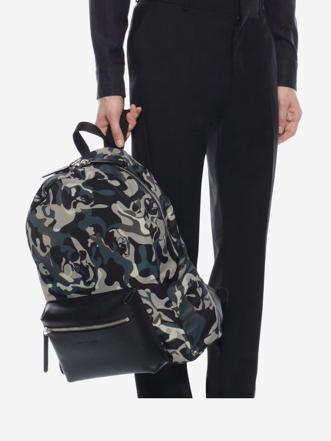 ALEXANDER MCQUEEN Camouflage Print Backpack Backpack U a