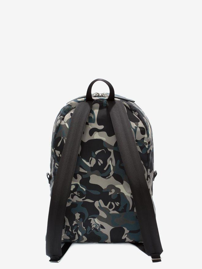 ALEXANDER MCQUEEN Camouflage Print Backpack Backpack Man d