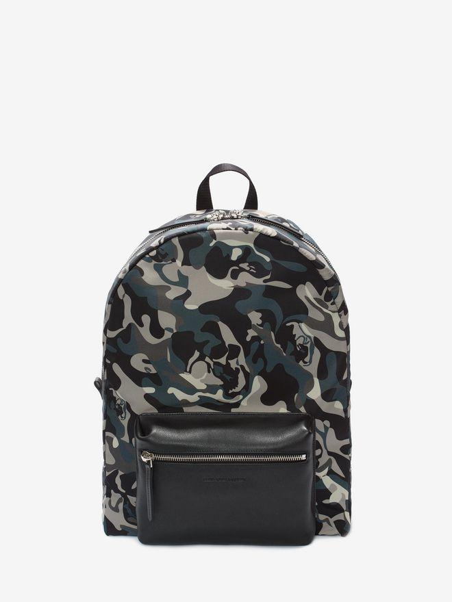 ALEXANDER MCQUEEN Camouflage Print Backpack Backpack U f