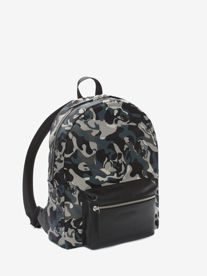 ALEXANDER MCQUEEN Camouflage Print Backpack Backpack U r