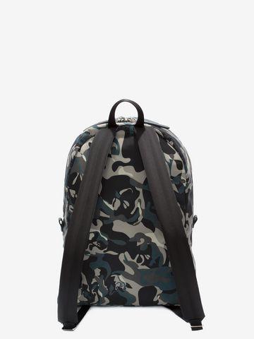ALEXANDER MCQUEEN Camouflage Print Backpack Backpack U d