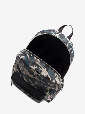 ALEXANDER MCQUEEN Camouflage Print Backpack Backpack Man e
